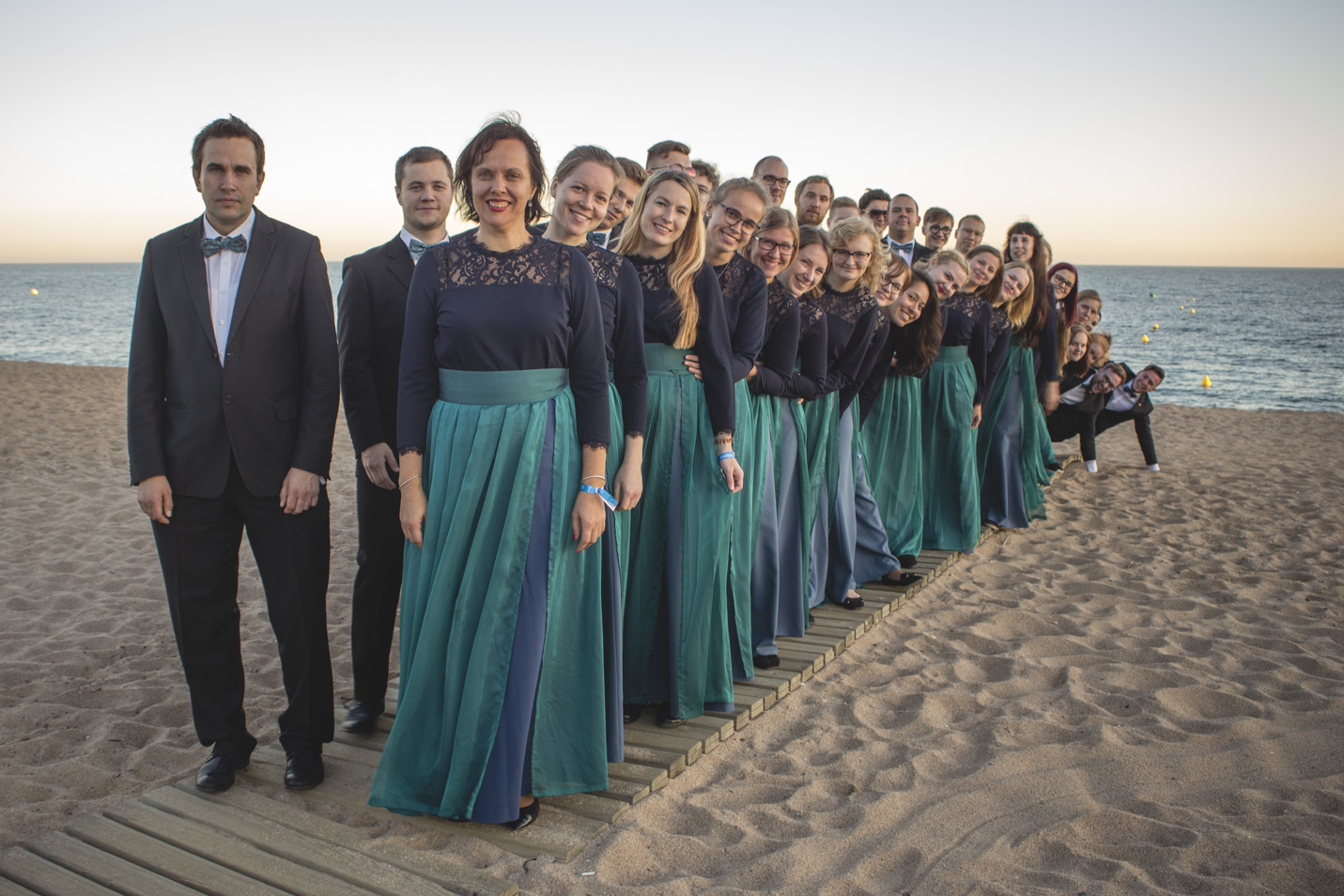 Tartu Üliõpilassegakoor Hispaanias Calellas 2018
