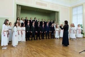XXI Tuljaku võistulaulmine Tartus Miina Härma Gümnaasiumis. Foto: Vahur Lõhmus