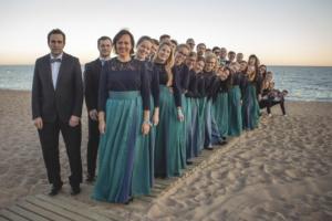 "TÜS Barcelonas ja Calellas konkursil ""Canta al mar"" (oktoober 2018). Foto: Mona Menets"